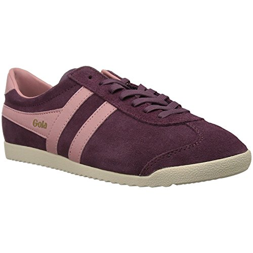 Gola Bullet Suede, Womens  Trainers, Red (Windsor Wine/Coral), 6 M ()
