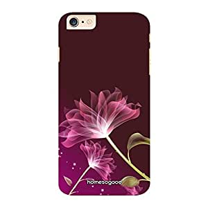 HomeSoGood Optical Art Floral Pattern Multicolor 3D Mobile Case For iPhone 6 Plus (Back Cover)