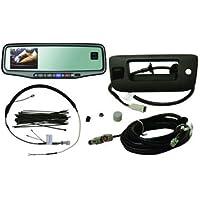 New 9002 9504 Silverado Sierra Rear Vision System 3.5 Inch Backup Monitor Compass by Brandmotion