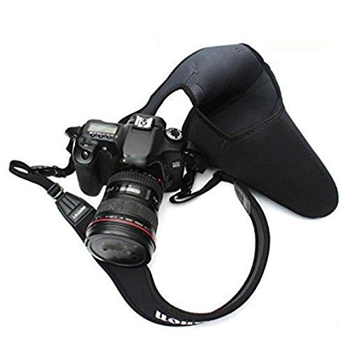 Price comparison product image ULAKY Camera Sleeve Case Soft Neoprene SLR DSLR Camera Liner Case Easy Bag Pouch Black Big Triangle Sleeve / Case / Bag