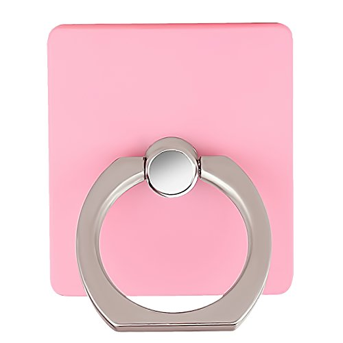 Cell Phone Finger Kickstand Loop Mount Stent 360 Degree Rotary Safe Hand Grip Universal,CaseHQ Ring Bracket for iPhone X 8 7 7Plus Samsung Galaxy S9 S9 Plus S7 S8 LG HTC (Pink)