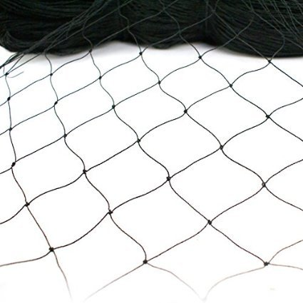 ZENY 50' X 50' Garden Net Netting for Bird Poultry Aviary Game Pens w/ 2''x 2'' Mesh by ZENY