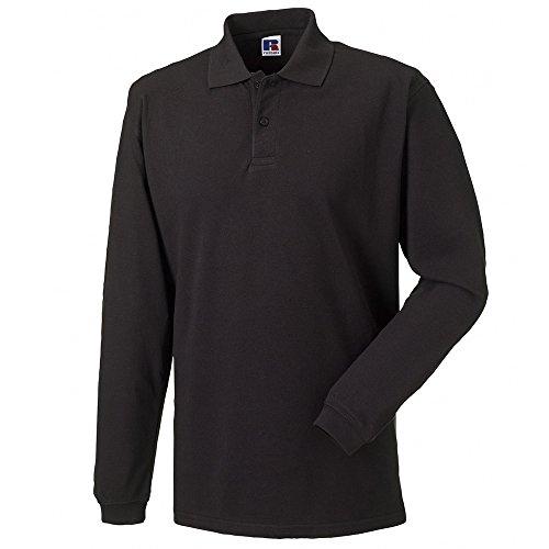 Jerzees Long Sleeve 100% Cotton Pique Polo Shirts