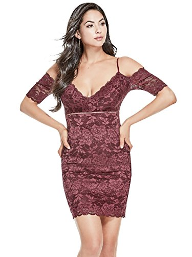 Guess-Womens-Off-The-Shoulder-Marcy-Lace-Dress