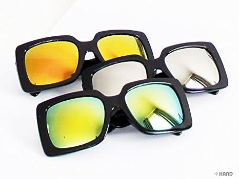 6209Rétro Iridescent miroir/teinte foncé Objectif Lunettes de soleil UV400–buy 1Get 1Free. Iridescent-Reflective ATIeWvj