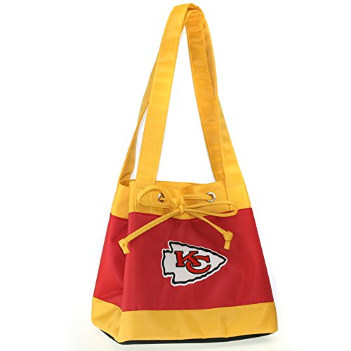 NFL Kansas City Chiefs Womens Fashion Insulated Lunch Tote with Embroidered Logo by Little Earth