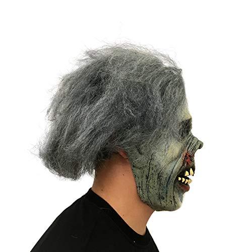Morbuy Terror Máscara de Halloween, Adulto Látex Novedad Horror Espeluznante Cabeza Máscaras Cara Fiesta de Disfraces Cosplay (Cadáver seco): Amazon.es: ...