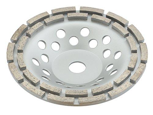 Trong Aard Diamond Grinding Disc/Cup Wheel Double Row 180mm Diameter 22.23mm/30mm