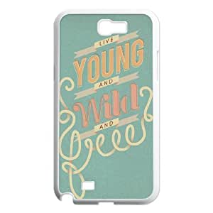 Young Wild and Free ZLB524107 Personalized Case for Samsung Galaxy Note 2 N7100, Samsung Galaxy Note 2 N7100 Case by supermalls