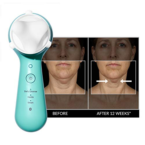 Clarisonic New Mia Smart 4 Piece Set for Cleansing, Smaller Pores, Acne, Fine Lines, Eye Puffiness, Crow's Feet, Sagging Jawline and Foundation Application by Clarisonic (Image #5)