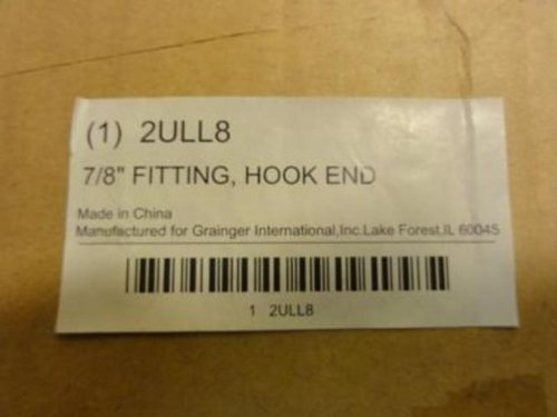 Industry-Std 2ULL8 Hook End Fitting 7/8''