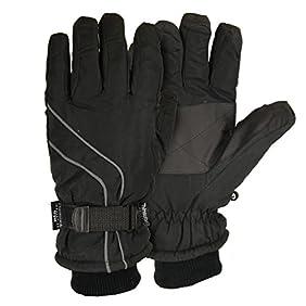 Men's Micro-Nylon Waterproof / Thinsulate Lined Cuffed Ski Glove