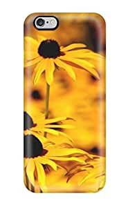 Excellent Iphone 6 Plus Case Tpu Cover Back Skin Protector Yellow Flowers