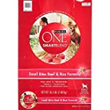 Purina ONE Small Bites Beef and Rice Formula, My Pet Supplies
