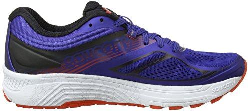 De Guide blue Multicolore Saucony Chaussures 10 Homme Compétition orange Running tOvBq