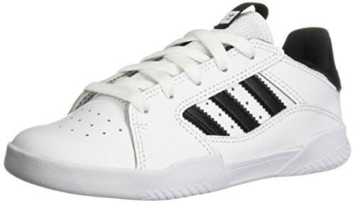 adidas Originals Unisex VRX Low Skate Shoe, white/black/white, 12K M US Little Kid
