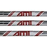 True Temper AMT Red 4-PW Steel Iron Shafts .355 Taper Tip - Set of 7 Shafts (Choose Flex)