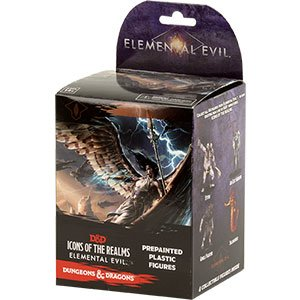 Dungeons & Dragons Miniatures: Elemental Evil Booster by WizKids