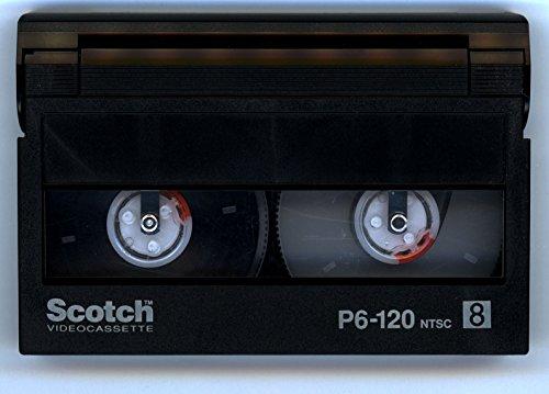 Scotch P6-120 8mm Camcorder Video Cassette