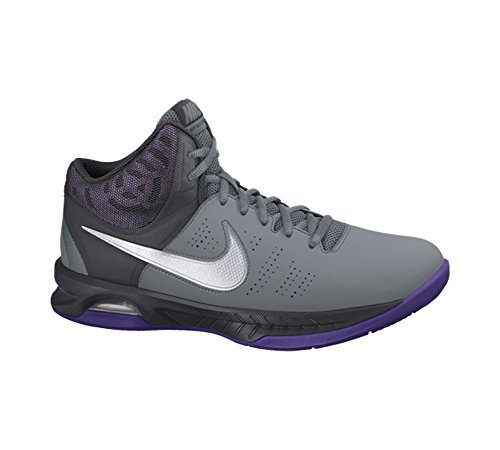 Nike Hommes Air Visi Pro Vi Basket-ball Chaussures Cool Gris / Anthracite / Court Violet / Blanc