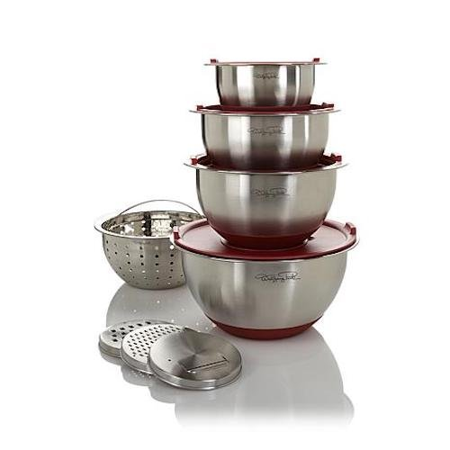 wolfgang puck stainless bowls - 4