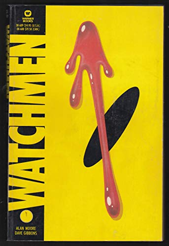 Alan Moore Dave Gibbons: WATCHMEN comic book graphic novel 1st printing 1987