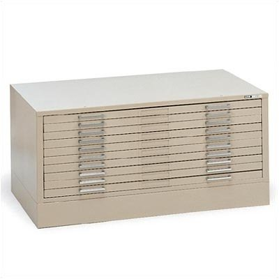 C-Files: Flush Base Color: White, File Cabinet Size: For 30