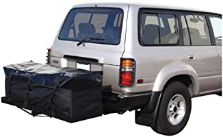 Pilot CG-19 Hitch Rack Cargo Bag Ft Secure Zipper and Strap Closure Adds 20 cu of Cargo Space Durable Cargo Bag for Road Trips and Overlanding Pilot Automotive