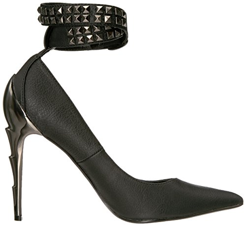 Demonia Womens Vol05 / Bpu Dress Pump Nero Vegan Leather
