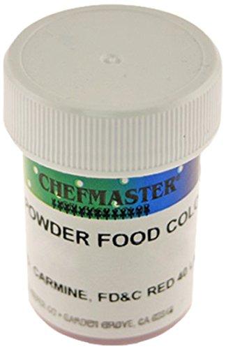 Chefmaster Powder Candy Color, 3gm, Black by Chefmaster