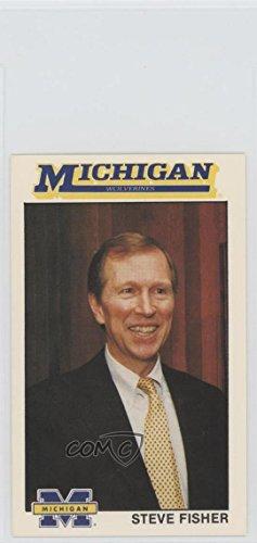 1989 Michigan Wolverines Basketball (Steve Fisher (Basketball Card) 1989 Michigan Wolverines Team Issue - [Base] #1)