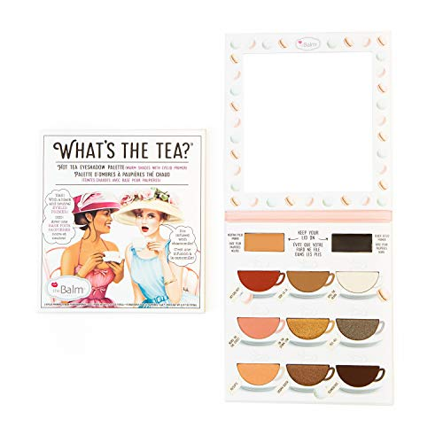 What's The Tea? Eyeshadow Palette With Primers, Hot Tea Warm Shades