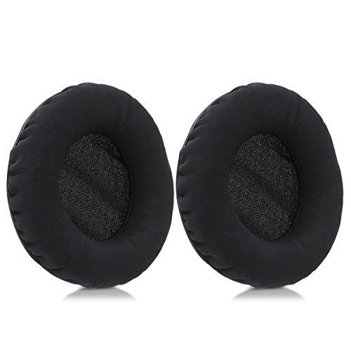 kwmobile 2x earpads for Sennheiser Urbanite XL Earphones - Leatherette replacement ear pad for Sennheiser Headphones - black by kwmobile