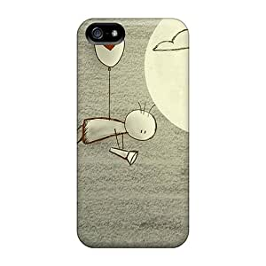 High Quality Rlnthzd6264ablsX Love Drawings Tpu Case For Iphone 5/5s