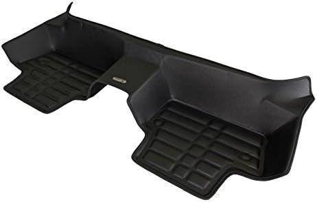 Waterproof Full Set - Black All Weather Laser Measured Largest Coverage TuxMat Custom Car Floor Mats for Volvo V60 2011-2018 Models The Ultimate Winter Mats