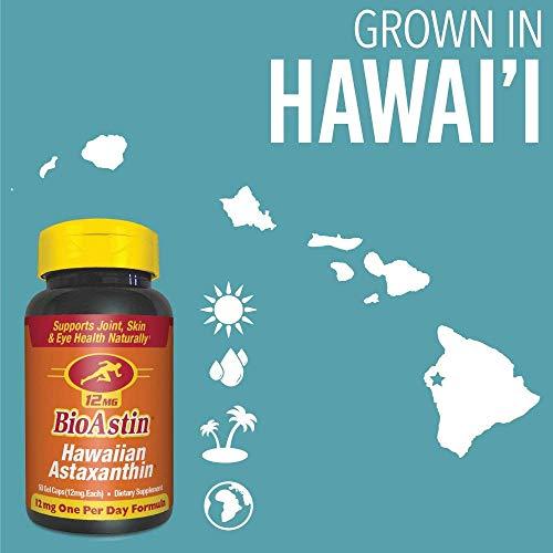 Nutrex Hawaii Bioastin Hawaiin Astaxanthin - 12mg, 50 Gel Caps (pack of 4) by NUTREX HAWAII (Image #4)