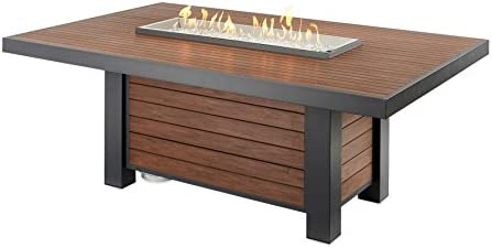 The Outdoor Greatroom KW-1242-K Dining Fire Table, Color
