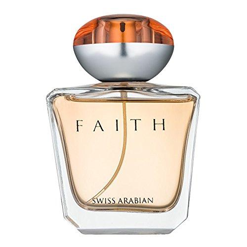 SWISSARABIAN Faith 100mL, an Eau De Parfum for Women with Floral, Fruity Heart with a Sultry Coconut and Sandalwood Base by Perfume Artisan Swiss Arabian ()