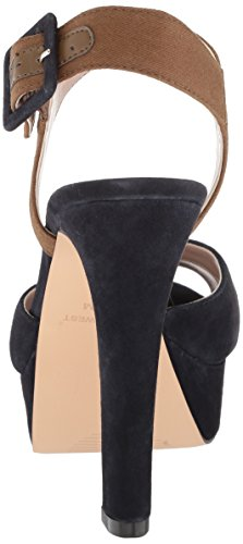 Nine West Donna Donna Donna  IBYN Suede Heeled Sandal - Choose SZ colore 6450ba