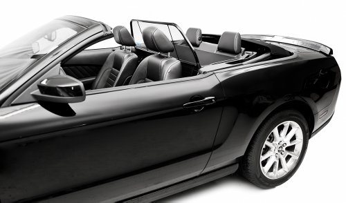 - 2005-2014 Mustang Convertible Love The Drive Wind Deflector Screen (For Vehicle Without Light/Style Bar)