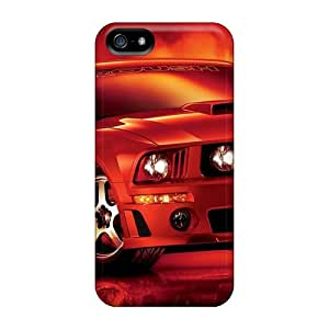 AlissaDubois Iphone 5/5s Best Hard Phone Case Custom Beautiful Ford Mustang Pattern [Yzs11504GCGQ]