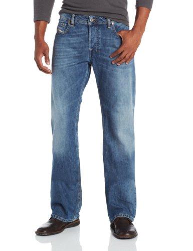Diesel Men's Zatiny Slim Micro-Bootcut Jean 0800Z, Denim, 33x32 ()