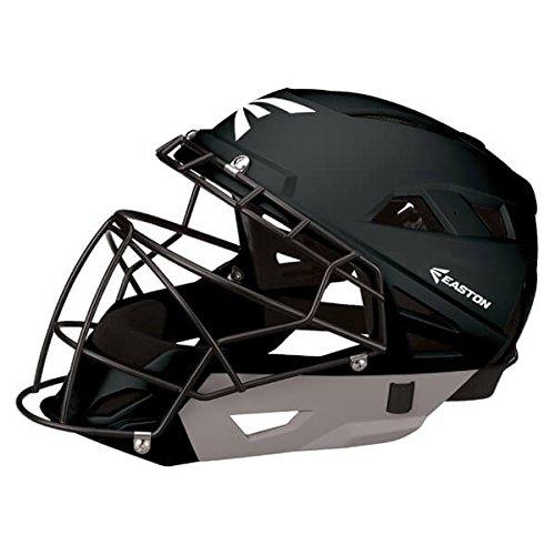 Easton M10 Catcher's Helmet, Royal/Silver, Small (Catchers Silver)