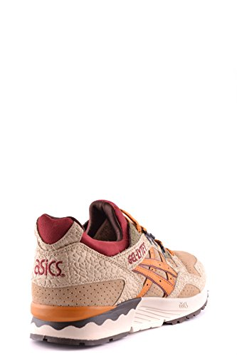 Womens Asics Mcbi028002o Sneakers In Pelle Beige
