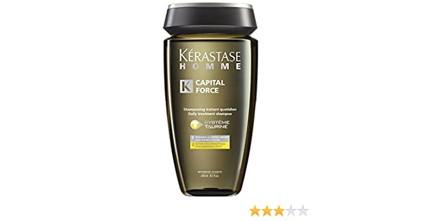 Kerastase Homme Capital Force Champú Anti Caída - 250 ml: Amazon.es: Belleza