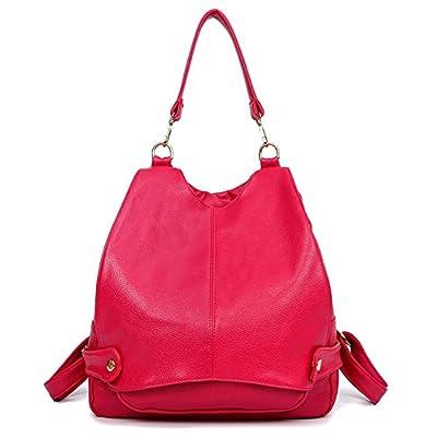 MAINLYCOR CHB880413 Fashionable PU Leather Korean Style Women's Handbag,Bucket-Type Backpack