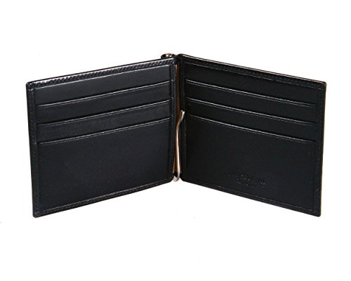 SAGEBROWN Compact SAGEBROWN Clip Money Compact With Black Wallet xUUpr8