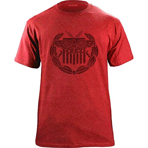 Vintage Style Global War on Terrorism Expeditionary Medal T-Shirt (Tri-Blend Red/Black, Medium) (Global War On Terrorism Expeditionary Medal Army)