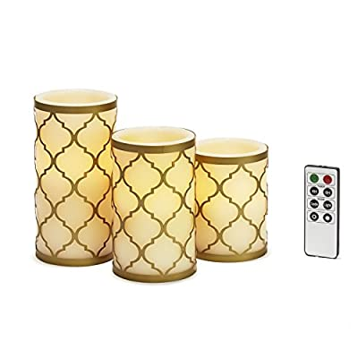 Candle Holders Included | Set of 3