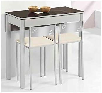 Amuebla 811. Mesa DE Cocina DE 110 X 55 CM. Extensible con UN ala ...